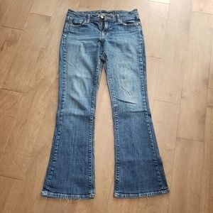 Old Navy regular stretch classic rise flare jeans